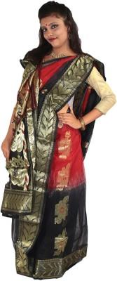 Tant Sarees Self Design Tant Handloom Cotton Sari