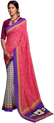 Rainbow Suits Printed Bollywood Cotton Sari