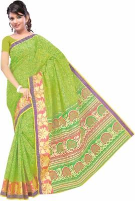 Beautiful You Self Design Fashion Cotton Sari