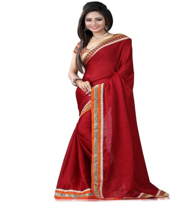 STYLO SAREES Self Design Fashion Chiffon Sari