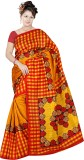 Pawan Tex Printed Bhagalpuri Synthetic S...