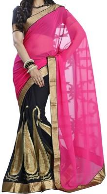 SK Self Design Fashion Georgette Sari