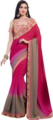Roopleela Embriodered Bollywood Georgette Sari