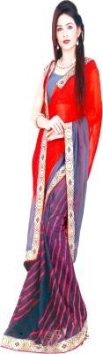 Fashion Plus Printed Bollywood Georgette Sari