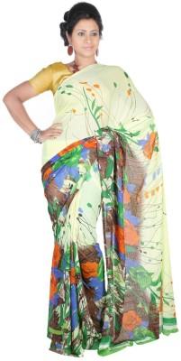 Hawai Printed Daily Wear Georgette Sari