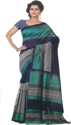 MANSHI FASHION Printed Fashion Cotton Sari