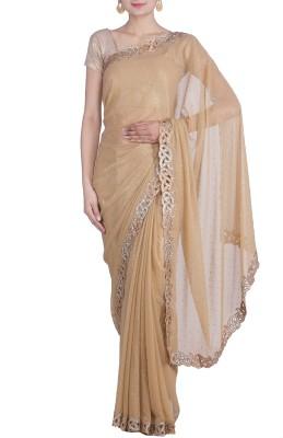REME Embellished Fashion Chiffon Sari
