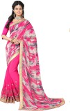 Sthri Solid Bollywood Georgette Saree (G...
