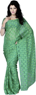 Ruda Printed Fashion Handloom Jacquard Sari