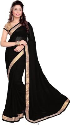 Khantil Self Design Bollywood Georgette Sari