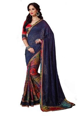 Nilu Tex Embriodered Bollywood Handloom Jacquard Sari