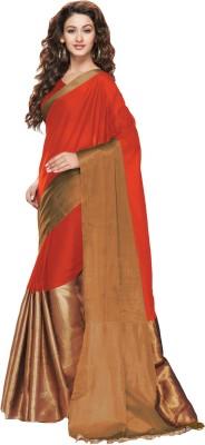 Salwar Studio Plain, Solid Fashion Cotton Sari