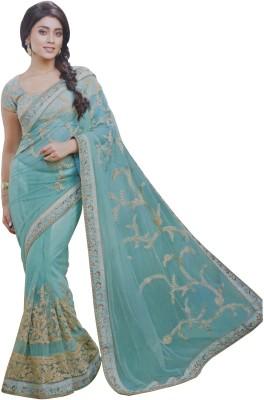 SAHAJ Embriodered Fashion Net Sari