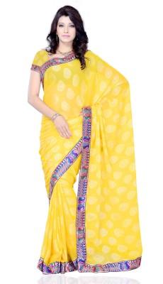 Diva Fashion-Surat Printed Daily Wear Handloom Jacquard Sari