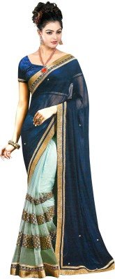 Naresh Sarees Embriodered Daily Wear Chiffon Sari