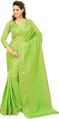Kaayaa Embriodered Chanderi Cotton Sari