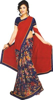 Aparna Creation Printed Fashion Georgette Sari