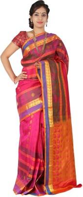 Silk Trendz Self Design Kanjivaram Pure Silk Sari