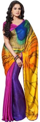 Shree Hans Creation Printed Daily Wear Brasso Sari