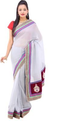 Pari Designer Floral Print Fashion Georgette Sari