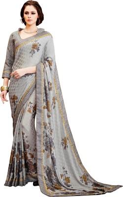 Fabfiza Printed Daily Wear Jacquard Sari