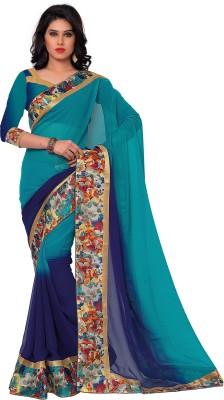 Sarvagny Clothing Self Design Bollywood Georgette Sari