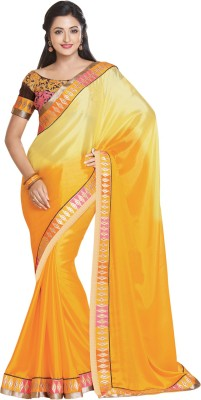 Style Merger Embriodered Daily Wear Georgette Sari