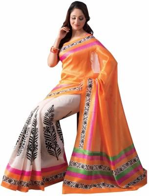 Ustaad Embriodered Bollywood Silk Sari