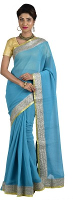 Manisha Designer Self Design Fashion Shimmer Fabric Sari
