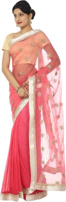 Kajal New Collection Embriodered Fashion Chiffon Sari