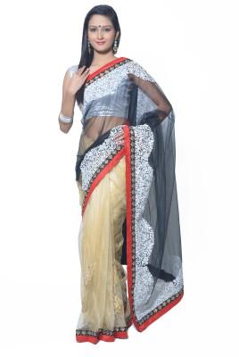 RCPC Solid Bollywood Net Sari
