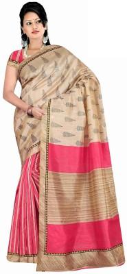 HIRA CREATION Self Design Fashion Cotton Sari