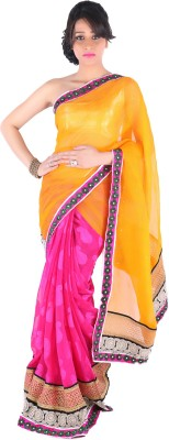 Suchi Fashion Embriodered Fashion Georgette Sari