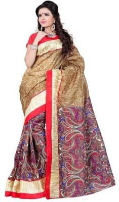 Rinki Saree Centre Self Design Fashion Cotton Slub Sari