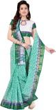 Aarti Apparels Printed Gadwal Cotton Sar...