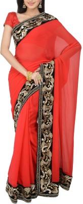 Estri Embriodered Fashion Handloom Georgette Sari