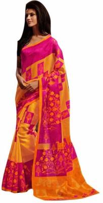 Diva Divine Printed Fashion Art Silk Sari