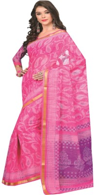 Lady Sringar Printed Bollywood Silk Cotton Blend Saree(Multicolor) at flipkart