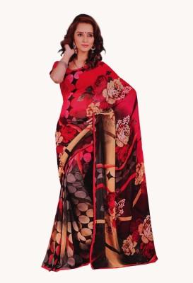 freshboss Printed Coimbatore Chiffon Sari
