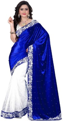 Mert India Self Design Fashion Velvet Sari
