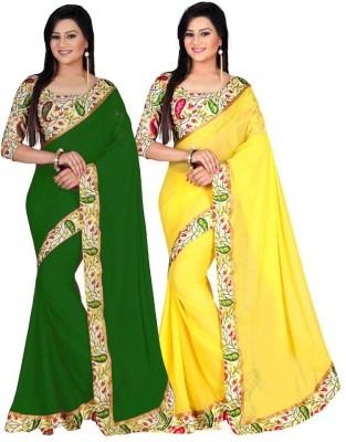 bhuwal fashion Printed Bhagalpuri Art Silk Sari
