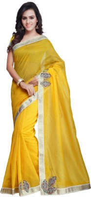 Prafful Embellished Fashion Net Sari
