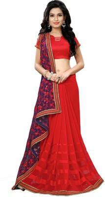 Beautiful You Self Design Fashion Art Silk Sari