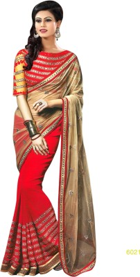Naresh Sarees Embriodered Daily Wear Handloom Net Sari