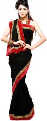 Deepak Sari Self Design Fashion Georgette Sari