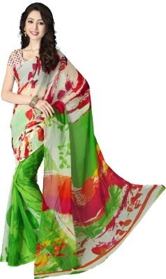 Shree Sidh Printed Fashion Chiffon Sari