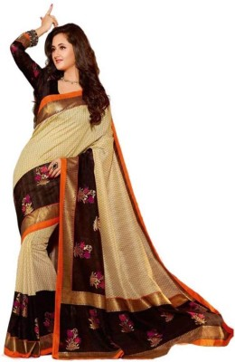 Supriya Fashion Printed Bhagalpuri Printed Silk Sari