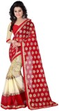KIRAN Self Design Bollywood Georgette Sa...