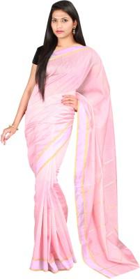Sri Radha Krishna Textiles Striped Fashion Cotton Sari