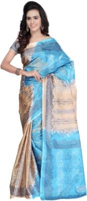 Kajal Sarees Floral Print Bollywood Art Silk Sari